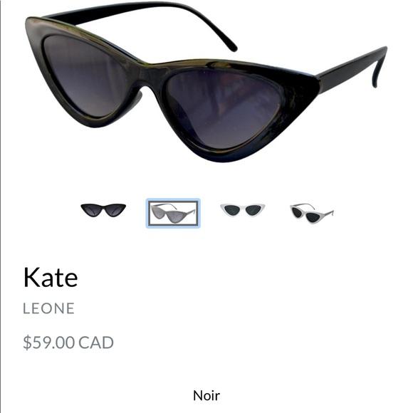 Leone Kate black cat eye sunglasses